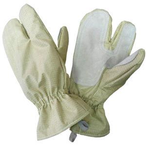 Перчатки с крагами трехпалые ТТОС