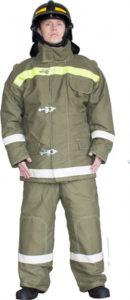 Боевая одежда пожарного БОП I тип У вид Т вид Б