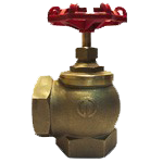Клапан угловой КПК-50 латунь