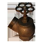 Клапан угловой РПТК-50 чугун