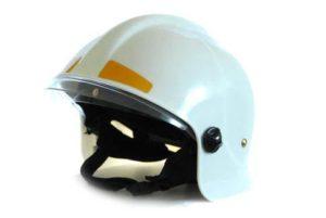 Шлем пожарного ШПМ белый
