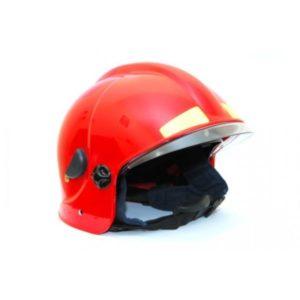 Шлем пожарного ШПМ красный