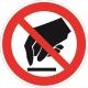 Знак Запрещается прикасаться. Опасно