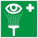 Знак пункт обработки глаз