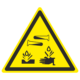 Знак опасно. Едкие и коррозионные вещества
