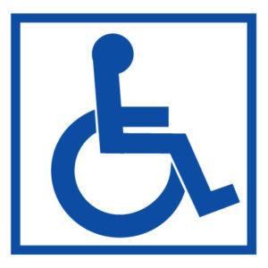 Знак доступность для инвалидов на креслах-колясках