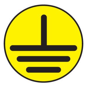 Знак указатель заземления