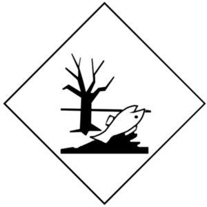 Знак вещество опасное для окружающей среды