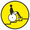 Знак Осторожно! Лестница вверх