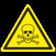 Знак опасно. Ядовитые вещества